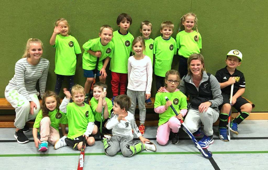 Hockeykindergarten 2020 - Gruppenfoto