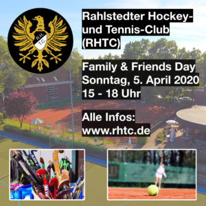 RHTC - Family and Friends Day - April 2020