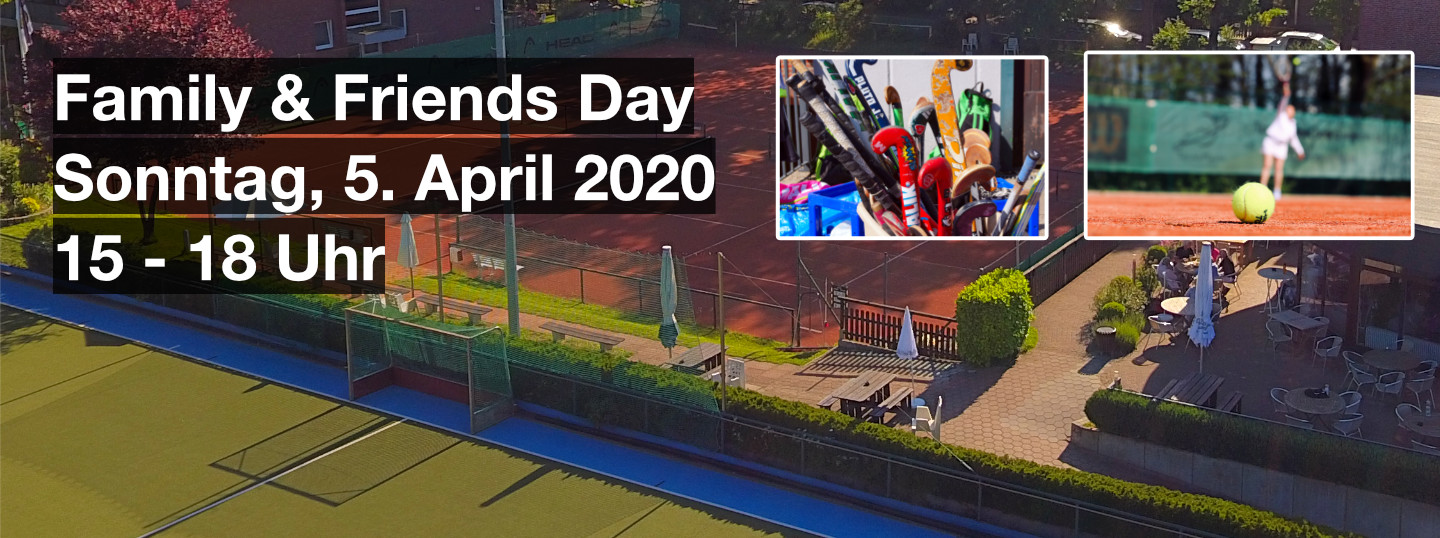 Banner Family & Friends Day - 5. April 2020