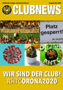 Clubnews Mai 2020 - Cover